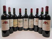 10 bouteilles 1 bt : CHÂTEAU LARMANDE 1999 GCC Saint Emilion (étiquette léger tachée)