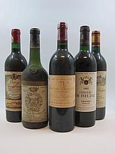 10 bouteilles 1 bt : CHÂTEAU RAUZAN GASSIES 1975 2è GC Margaux (étiquette sale)