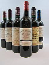 12 bouteilles 1 bt : PRELUDE GRAND PUY DUCASSE 1996 Pauillac