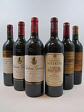 12 bouteilles 2 bts : CHÂTEAU D'ISSAN 2000 3è GC Margaux