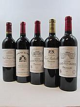 12 bouteilles 2 bts : CHÂTEAU GRAND PUY DUCASSE 2003 5è GC Pauillac