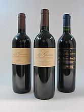 6 bouteilles 2 bts : CHÂTEAU LES GRAVIERES 2000 GC Saint Emilion