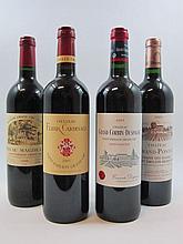 12 bouteilles 2 bts : CHÂTEAU MAGDELAINE 1998 1er GCC (A) Saint Emilion