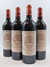 7 bouteilles 2 bts : CHÂTEAU PICHON LONGUEVILLE BARON 2000 2è GC Pauillac
