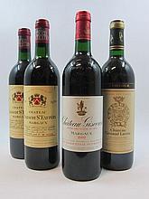 12 bouteilles 2 bts : CHÂTEAU GRUAUD LAROSE 1989 2è GC Saint Julien (1 étiquette abimée)