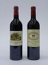 12 bouteilles 10 bts : CHÂTEAU PAVIE MACQUIN 2006 1er GCC (B) Saint Emilion
