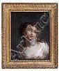 Jacques-Antoine Vallin Paris, 1760 - (?), après 1831 Bacchante Huile sur panneau, une planche