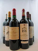 6 bouteilles 1 bt : COS LABORY 1989 5è GC Saint Estèphe