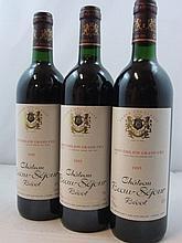 11 bouteilles CHÂTEAU BEAUSEJOUR BECOT 1995 1er GCC (B) Saint Emilion
