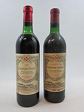 10 bouteilles 3 bts : CHÂTEAU GAZIN 1973 Pomerol