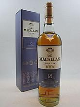 1 bouteille WHISKY 18 ans