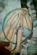 PEDRO ESTEBAN MARTINEZ (1991 - ) - Through the Hoop, Listed