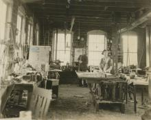 Original Press Photo C and R Factory, 1925