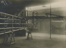 Original silver Photo Biplane Construction, France 1910's