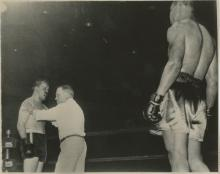 Silver Gelatin Joe Louis Fighting 1930's