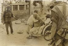 Original Press Photo Civil evacuation in Vietnam, 1968