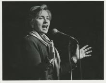 Original Press Silver Photo Mrs. Hillary Rodham Clinton, 1993