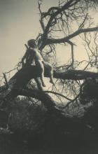 Original Silver Gelatin, Nude German Naturalism WWII Era, 1940's
