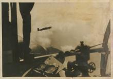 Rare Silver Gelatin, German Aviation Fighter, WWII 1940