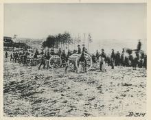 Original Press Silver Photo Civil War, Printed in 1950
