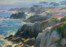 CHARLES MUENCH (1966 - ) Oil - Laguna Beach California