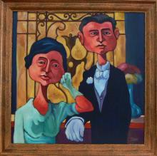 ROBERTO MORELLI (1944 - ) - Important Paraguay Artist