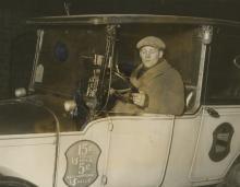 Taxi Driver Hero Ernest Heitman, New York 1926