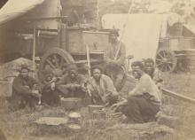 Antique photograph Civil War Era, African American