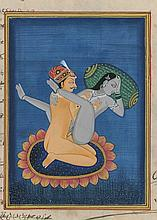 Erotic Indian Kamasutra Painting