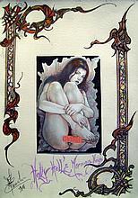 C. Marrache Original design on pergamine paper
