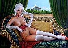 Alexander Stein, Original Oil On Canvas 50cm x 70cm