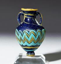 Superb Greek Core Form Glass Amphoriskos