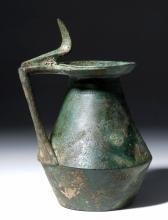 Ancient Greek Bronze Olpe