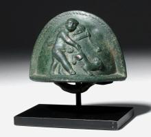 Roman Bronze Furniture Attachment - Cupid / Eros