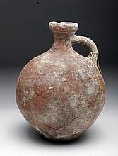 Holy Land Terracotta Flask