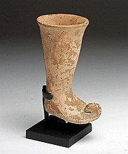 Early Near Eastern Rhyton, Boot-Shaped