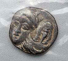 Silver Greek Istros Coin - Eagle and Dolphin