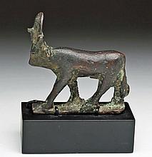 Egyptian Bronze Apis Bull, Ex-Sothebys