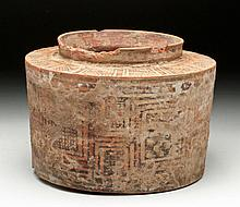 Massive Indus Valley Bi-Chrome Jar