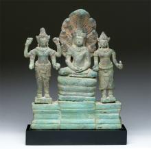 Khmer Buddha, Avalokiteshvara, Prajnaparamita, Sothebys