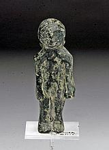 Early Near Eastern Bronze Idol