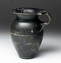 Greek Gnathian Blackware Pitcher
