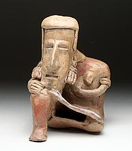 Jalisco Pottery Thinker - Large
