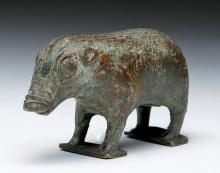 Rare Northern Kerala Bronze Boar