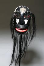 Mayo Pascola Polychrome Wooden Mask, ex-Historia