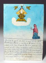 Translated Mexican Ex-Voto, Virgin of San Juan