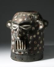 Yoruba Anthropomorphic Janiform Helmet Mask - Epa Cult