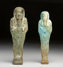 Pair of Egyptian Ushabtis