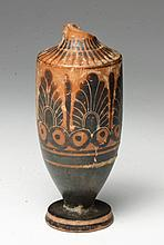 Greek Attic Black Figure Lekythos