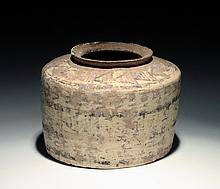 Large Ancient Indus Valley Footed Vessel